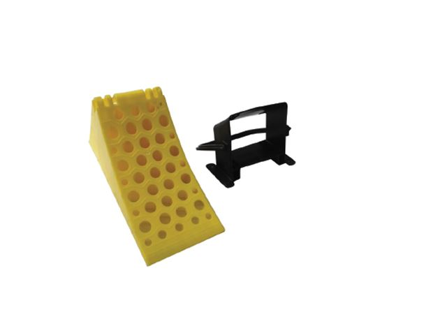 PLASTIC ACCESSORIES  - PU003  - WHEEL CHOCK