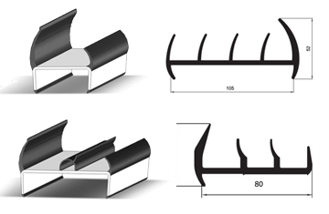 RUBBER AND PVC PROFILES